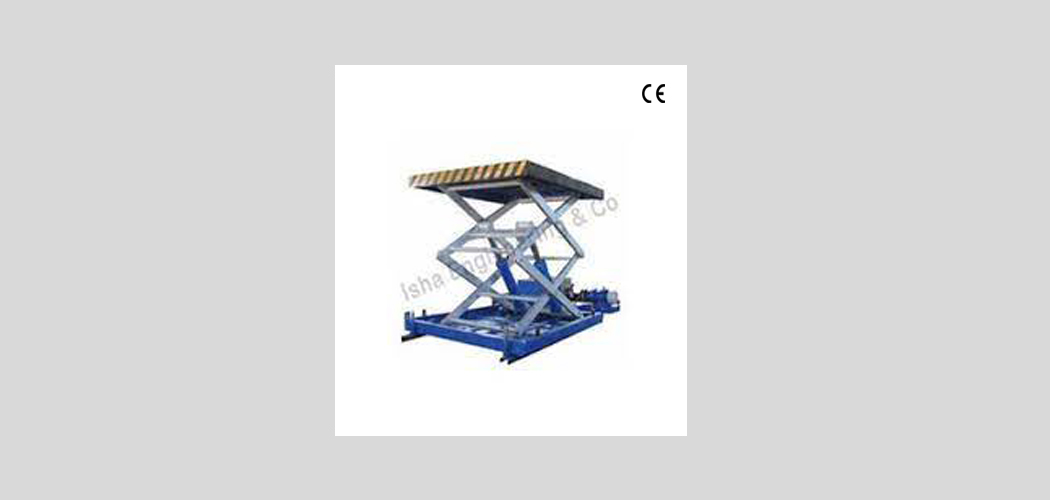 Low closed height Scissor lift