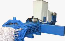 FULLY AUTOMATIC BALING PRESS