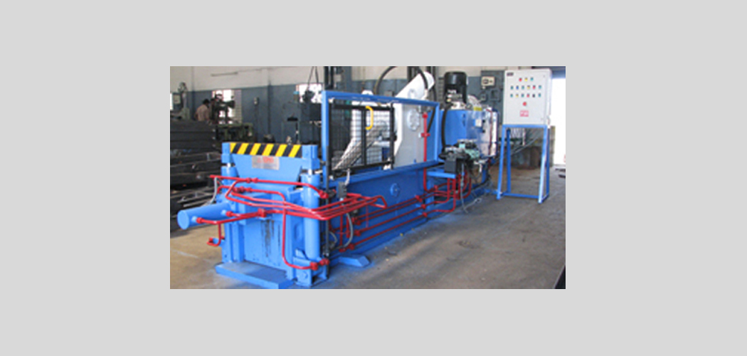 Fully Automatic Scrap Baling Press