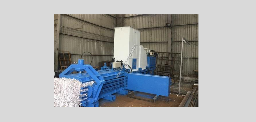 Fully Automatic Paper Baling Press