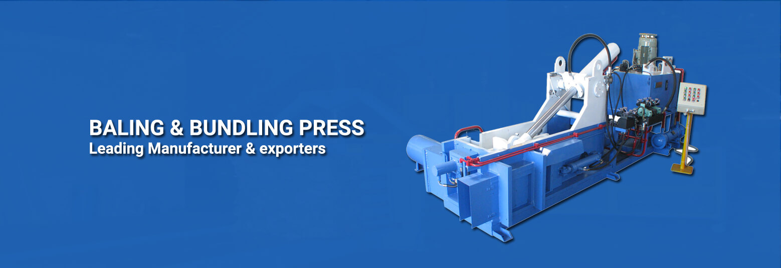 BALING AND BUILDING PRESS